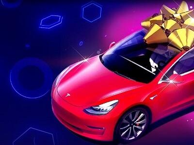 Поздравь онлайн казино BitStarz с днем рождения и получи Tesla Model 3!